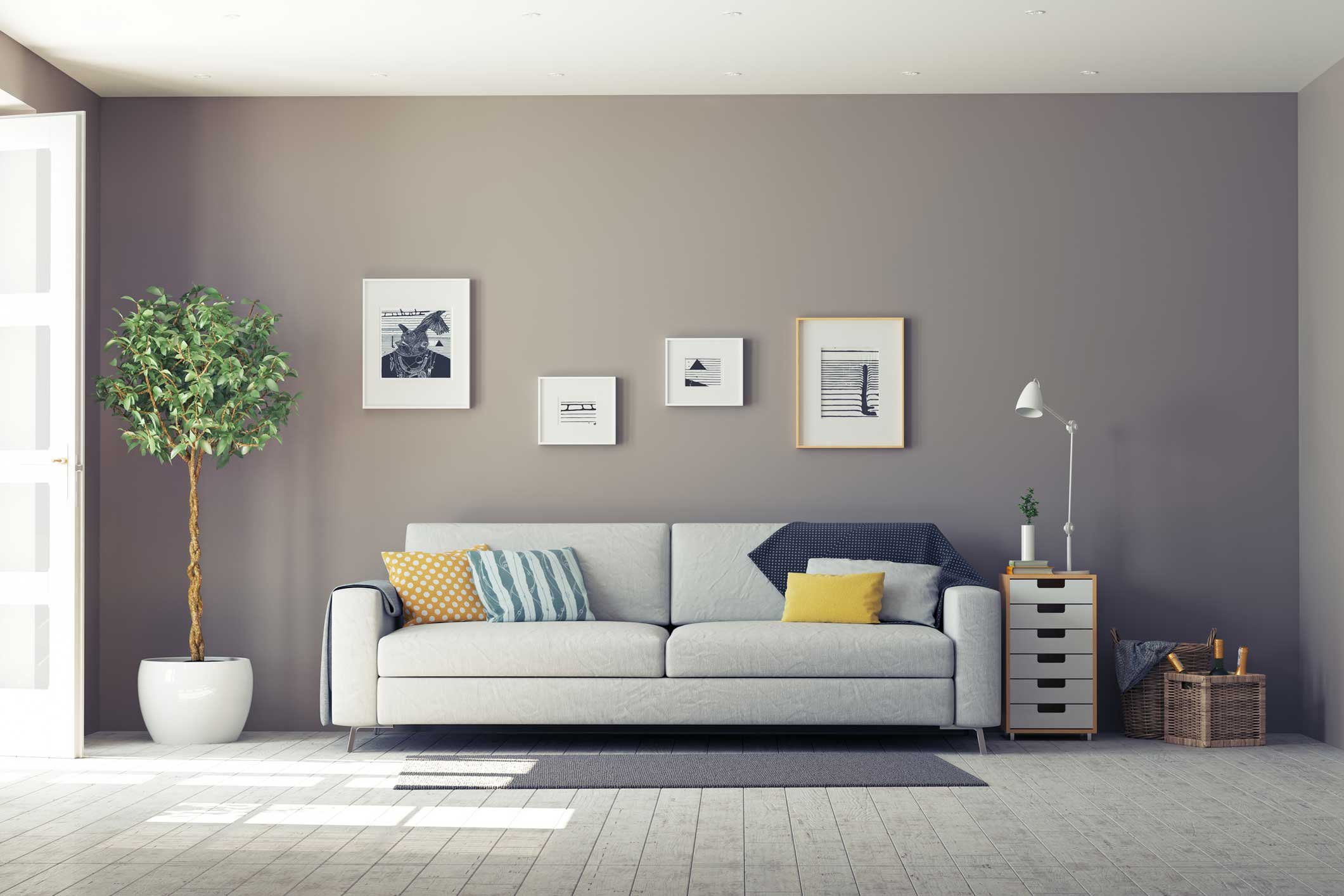 Pittura parete interna